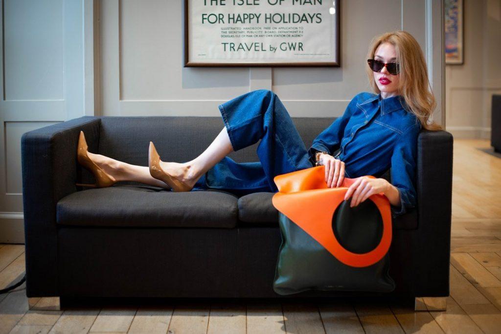 Leather Handbags - Made in England - Green Bag - Big Bags