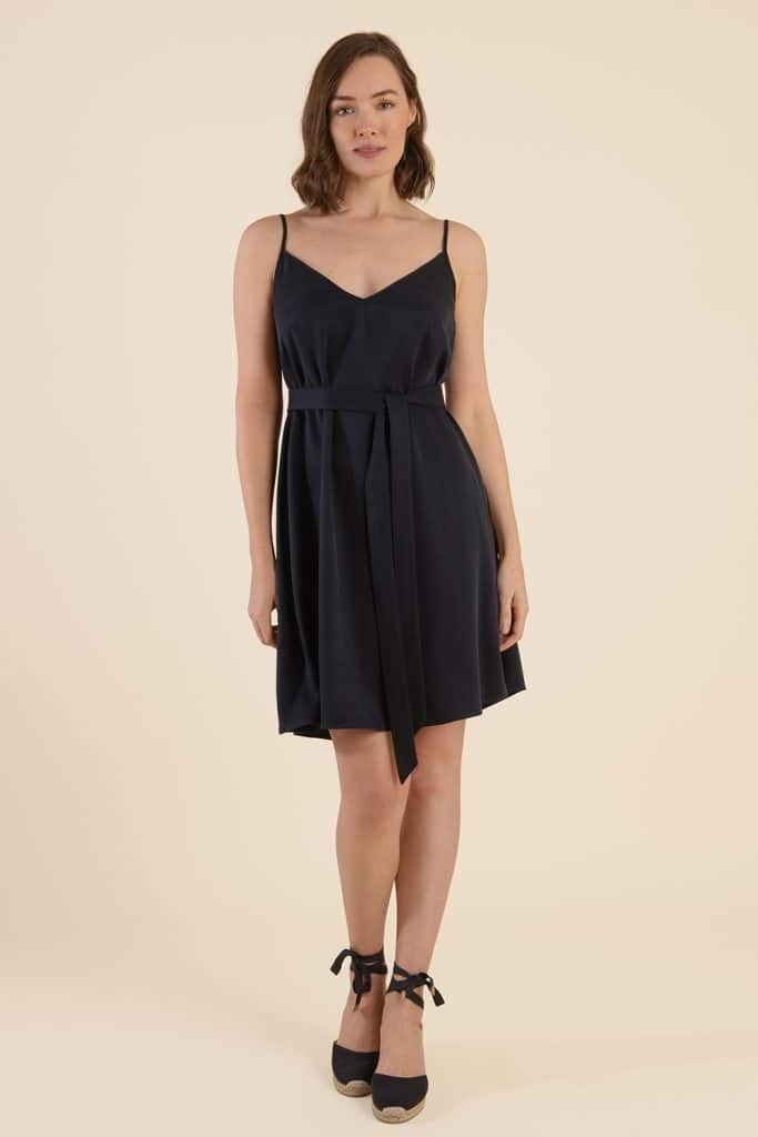 Belted Summer Dress - Made In England - Cat Turner