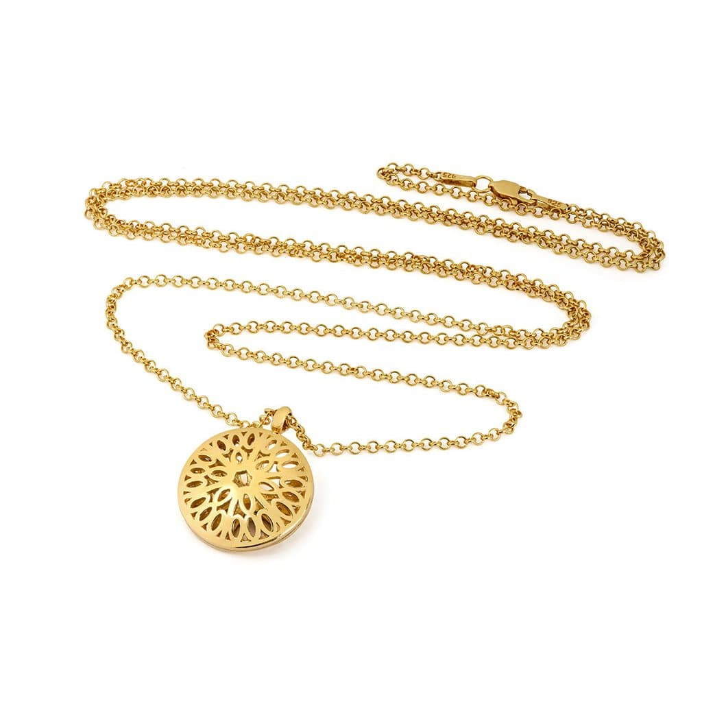 Little by Little - Seville Dome Necklace in Gold
