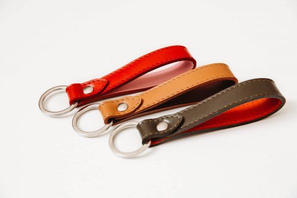 keychains luxury leather